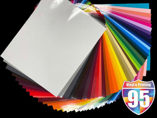 Siser Easyweed Solid HTV Sample Pack 41 Sheets
