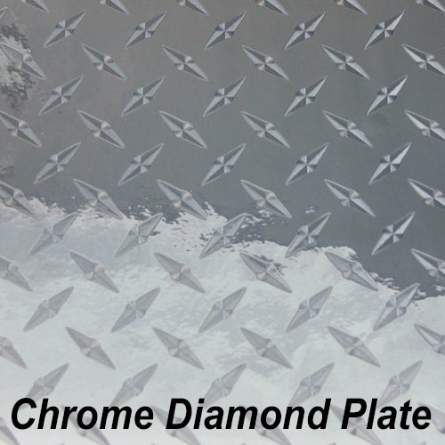 StarCraft Metal Chrome Diamond Plate Mirror Vinyl