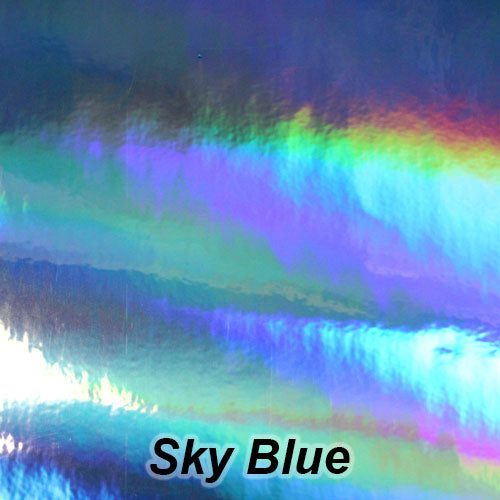 StarCraft Magic Spectrum Sky Blue Holographic Permanent Vinyl