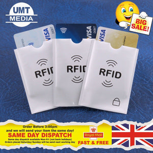 RFID Sleeves Credit Card Covers ID Identity Protector Protection Blocking Wallet