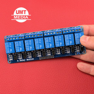8 Channel 5V Relay Module Optocoupler Protection Power Supply Arduino PIC DSP