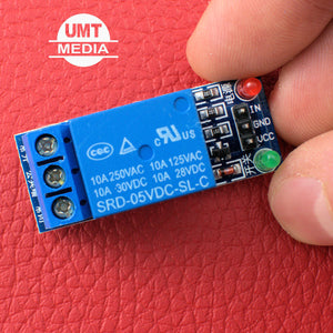 1 Channel 5V Relay Module Optocoupler Protection Power Supply Arduino PIC DSP