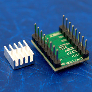 RepRap 3D Printer A4988 Stepstick Stepper Motor Driver 3M Tape Heatsink