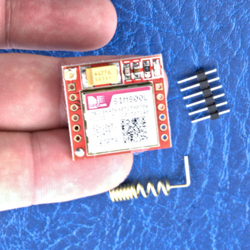 SIM800L Module GSM GPRS SMS With Antenna For Arduino - Raspberry Pi -  ESP-12 UK