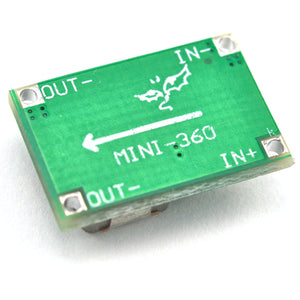 5 X Mini-360 MP2307 DC-DC Step Down Buck Converter Voltage 1.0V-17V LM2596