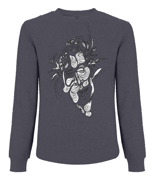 Men's Raglan Sweatshirt Tree.Man