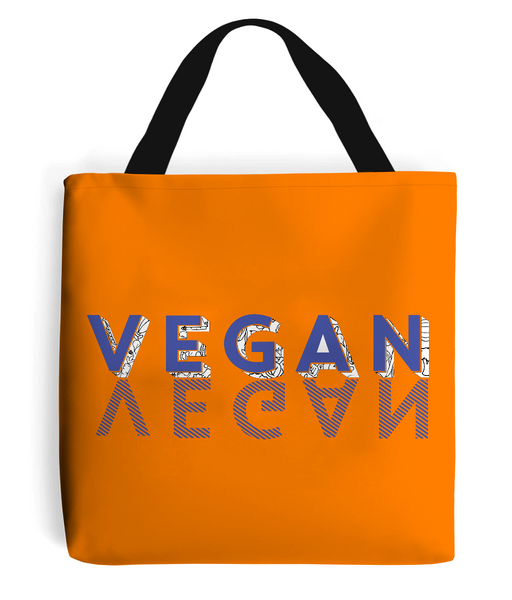 Tote Bag VEGAN-BLUE.w