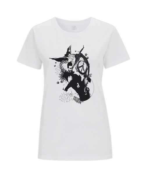 Classic Jersey Women's T-Shirt Abstract.Vegan.ii