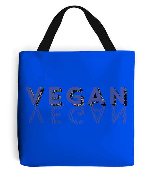 Tote Bag VEGAN-BLUE.b