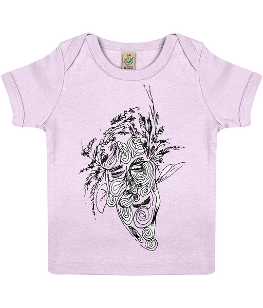 Baby Lap T-shirt Tree.Man