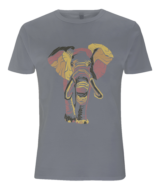 Tencel Blend Men's T-Shirt Elephant
