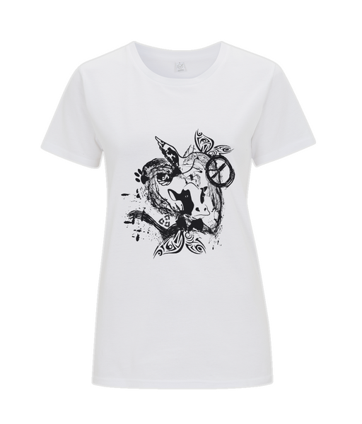 Classic Jersey Women's T-Shirt Abstract.Vegan