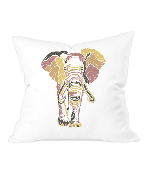 Throw Cushion Elephant