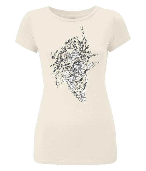 Women's Slim-Fit Jersey T-Shirt Tree.Man