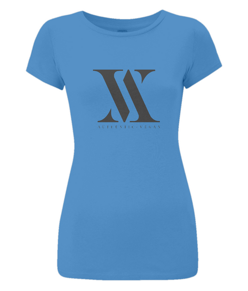 Women's Slim-Fit Jersey T-Shirt Authentic-Vegan