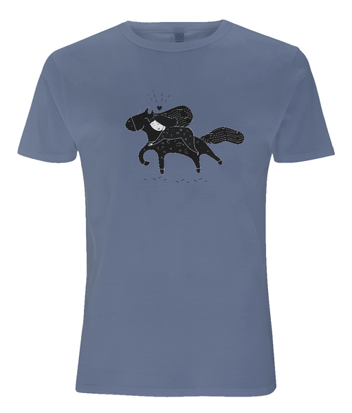 Tencel Blend Men's T-Shirt Sofi.Horse