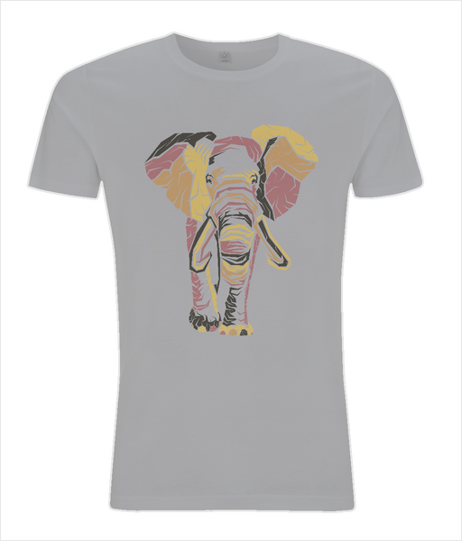 Slim Fit Jersey Men's T-shirt Elephant