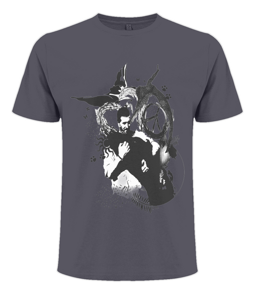 Men's Standard T-shirt Abstract.Vegan.ii