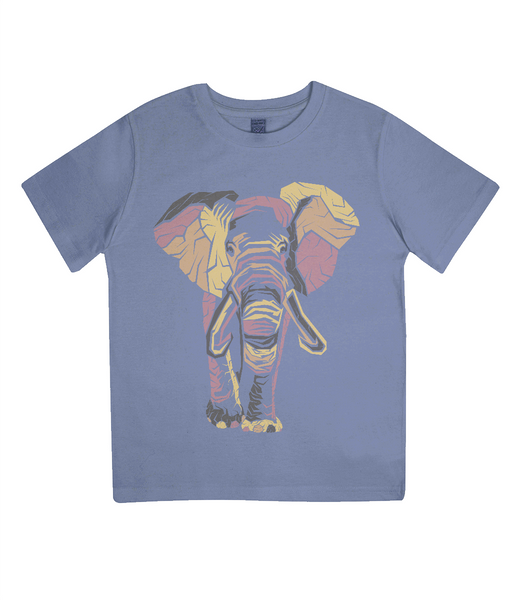 Junior Classic Jersey T-Shirt Elephant