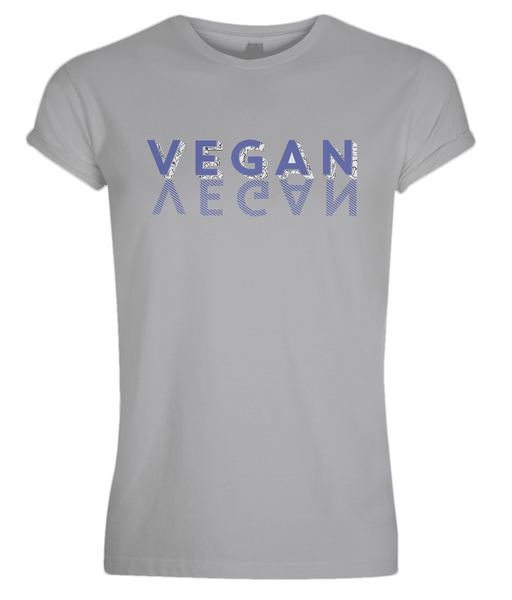 Men's Rolled Sleeve T-Shirt VEGAN-BLUE.w