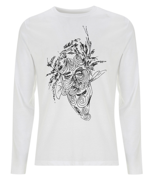 Men's Long Sleeve T-Shirt Tree.Man