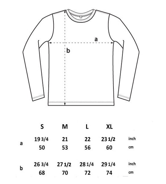 Men's Long Sleeve T-Shirt Sheep