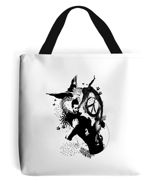 Tote Bag Abstract.Vegan.ii