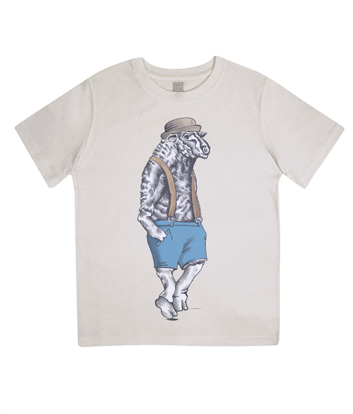 Junior Classic Jersey T-Shirt Sheep