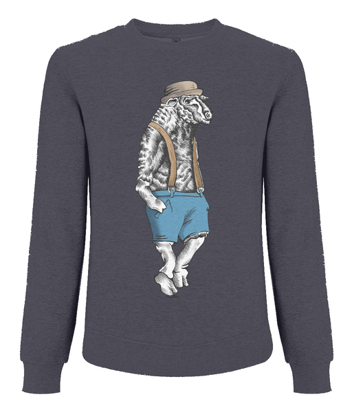 Men's Raglan Sweatshirt Sheep