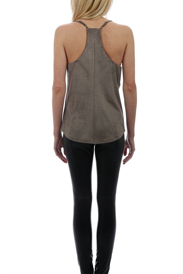 Suede Tank