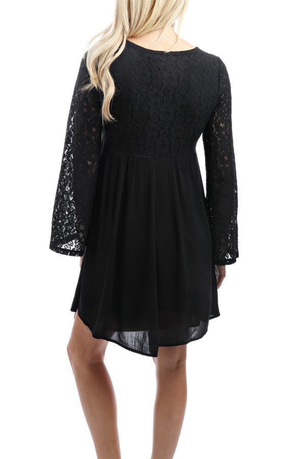 Omnia Dress - Black