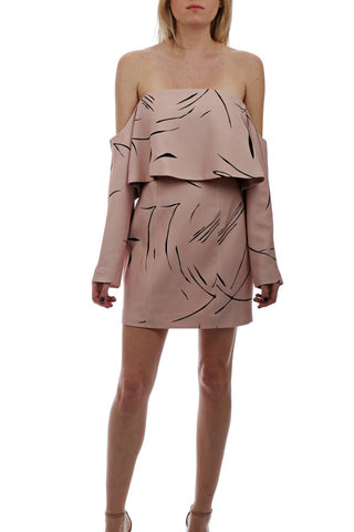Rapture Mono Sleeve Dress