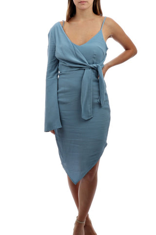 Echinaccea High Neck Dress