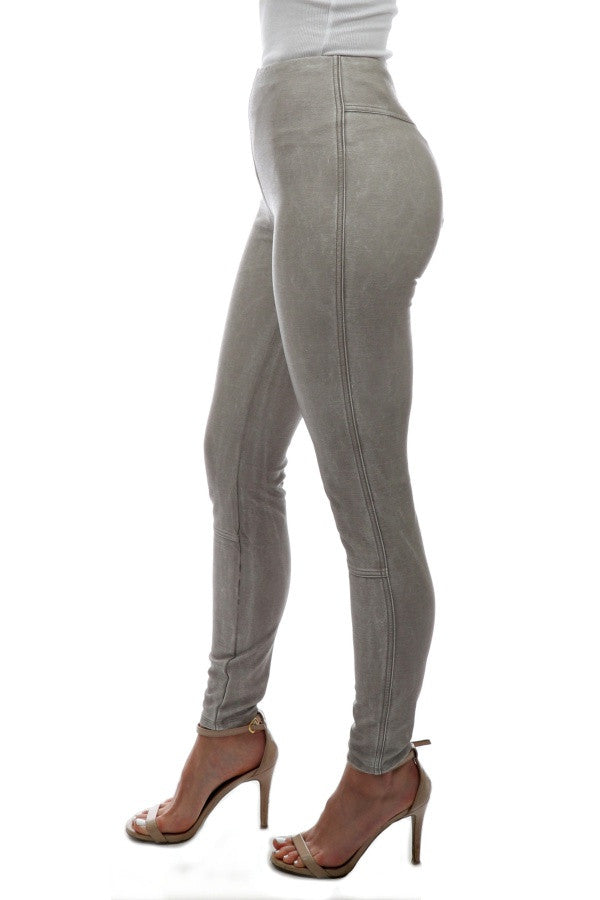 Jones Vegan Legging - Cement