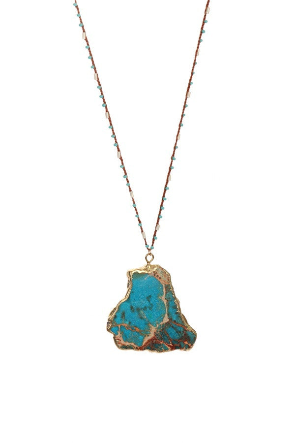 Turquoise Dream Necklace - A