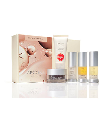 Arcona Basic Five Oily Skin Type Starter Kit