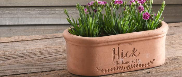 Our Engraved Terracotta Garden Pots Are A Great Gift Idea For Gardeners And  Come In All Shapes And Sizes   Just Like Gardeneners!