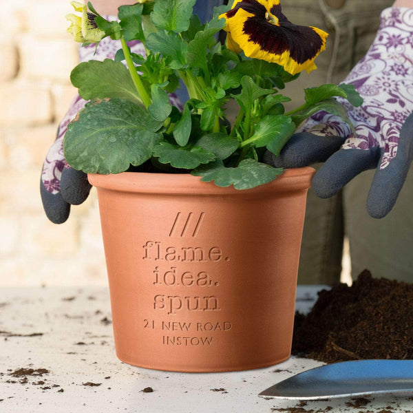 What3words Personalised Plant Pot
