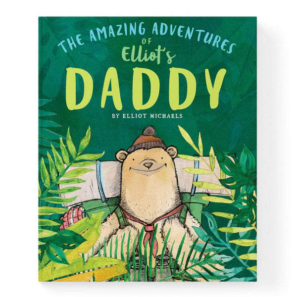 Personalised Adventures of Dad Book