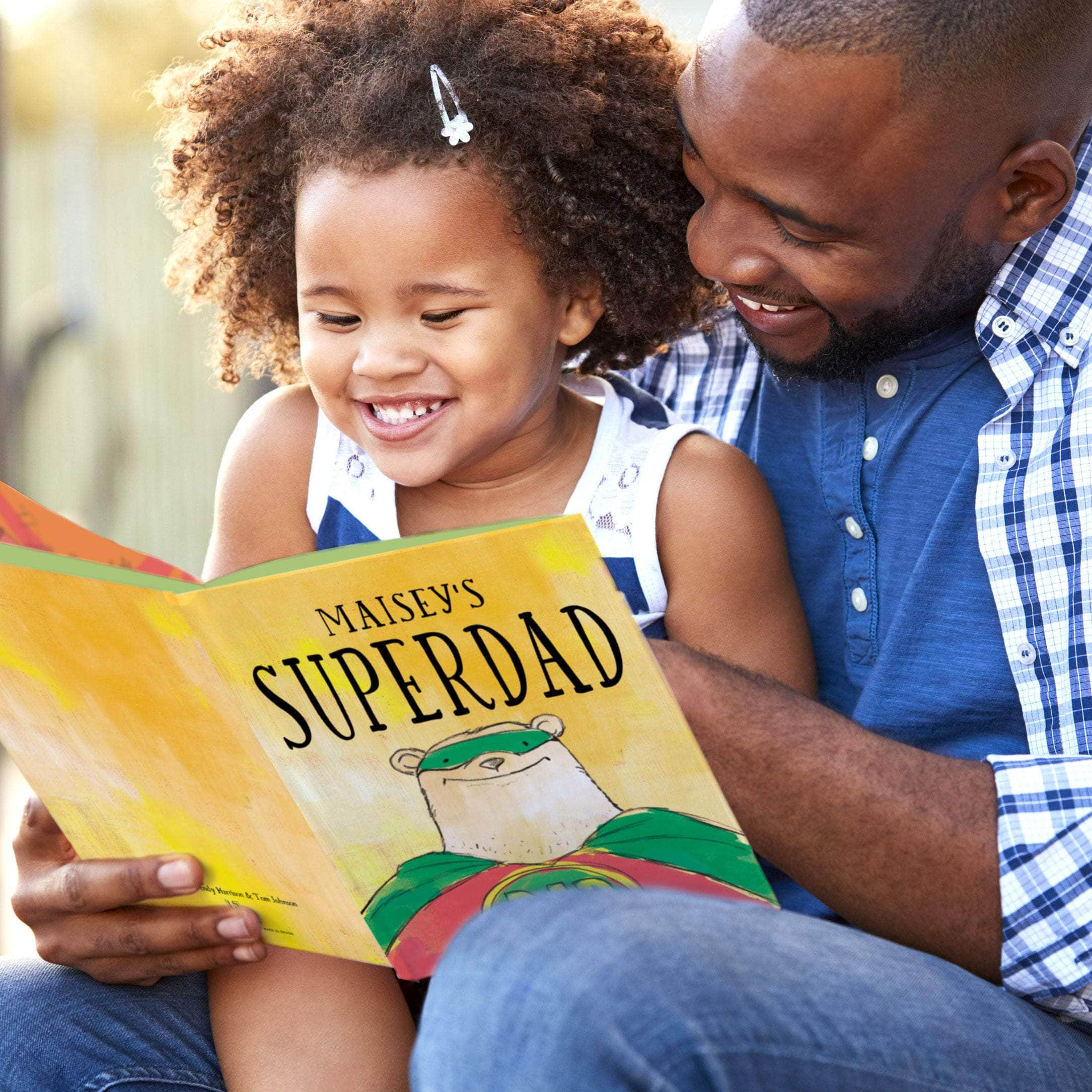 Personalised Dad's Superhero Book