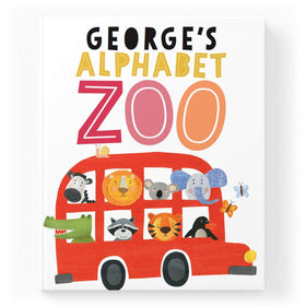 Personalised Alphabet Zoo Story Book