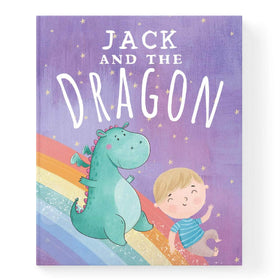 Personalised Dragon Book For Baby Or Child