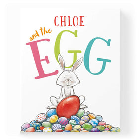 Personalised Eggcellent Easter Adventure Book