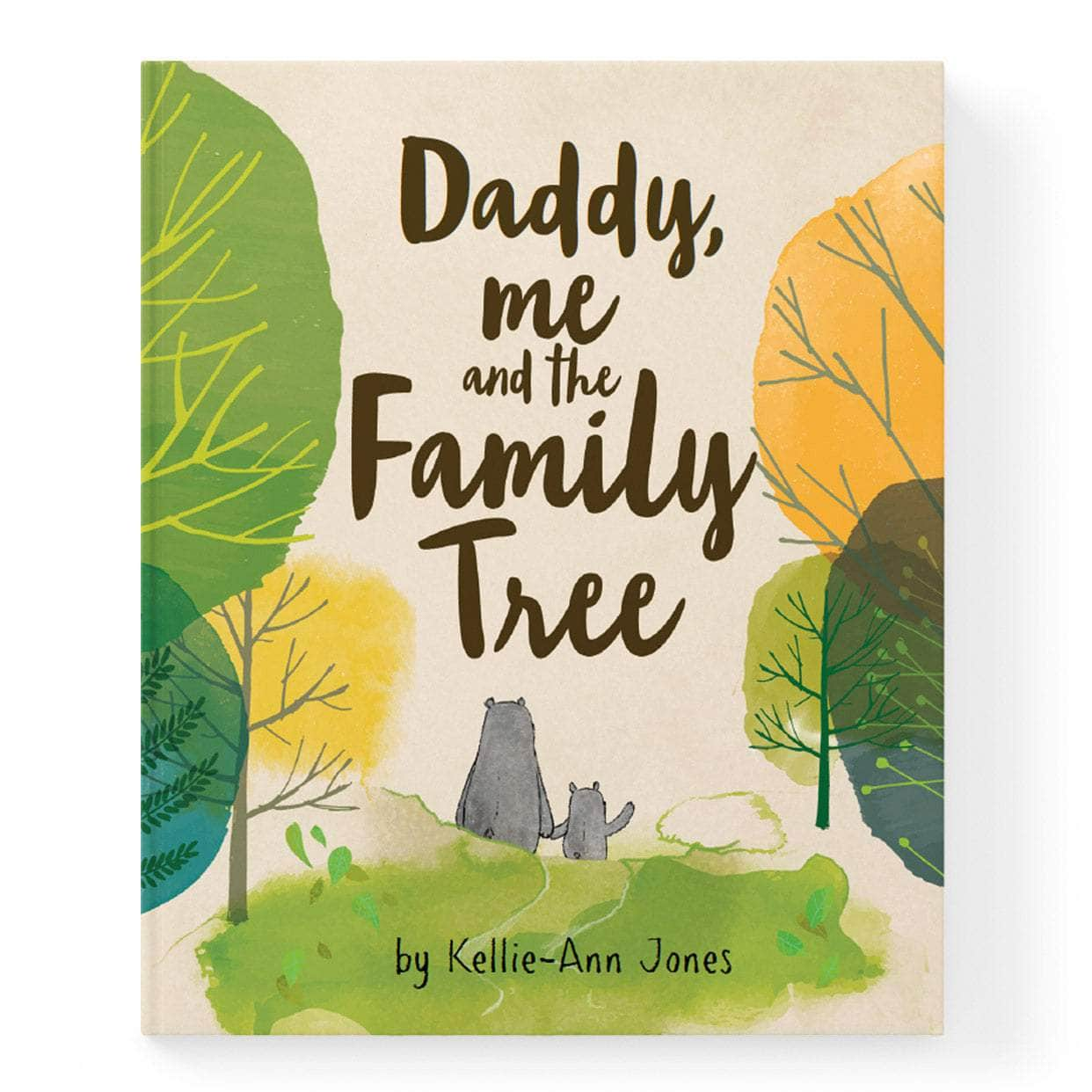 Daddy Me And The Family Tree Personalised Book
