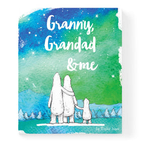 Personalised Grandparent And Me Book