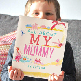 letterfest book All About Mum Personalised Book