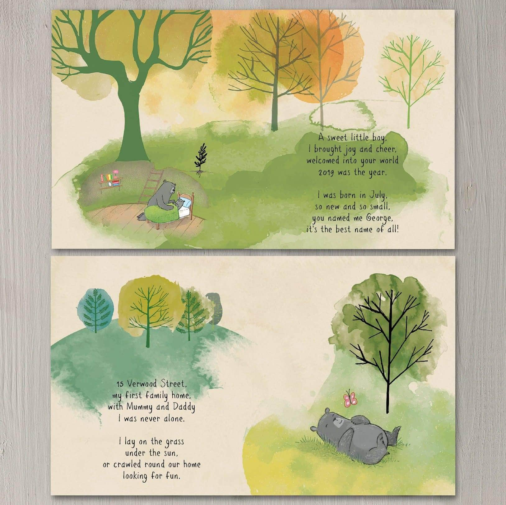 letterfest book Daddy Me And The Family Tree Personalised Book
