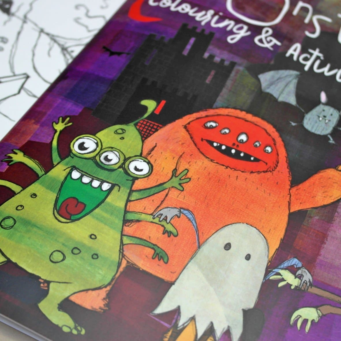 letterfest book Monster Colouring And Activity Book