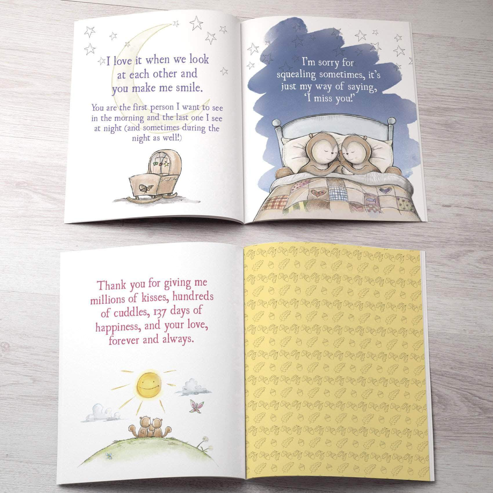 letterfest book New Dads Personalised Children's Book