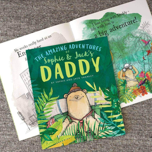 letterfest book Personalised Adventures of Dad Book